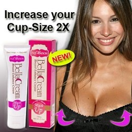Wholesale 2015 Must Up NEW Powerful Pueraria Breast Enlargement Cream g Bust Cream Breast Enhancer Breast Enlargement Bella Cream DHL