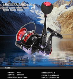 Wholesale KB1000 fishing reels ONLY PROMOTION spinning wheel bearing fishing vessel round pole fishing tackle