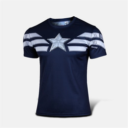 6Colors 2015 Captain America Faded Logo T Shirt Captain America Winter Soldier Logo T Shirt The 2015 Avengers Sublimated Overlay Adults Tee
