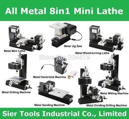 Wholesale Metal Type All Metal in Mini Lathe Z8000M metal mini lathe kit W r in1 didactical lathe inspirational DIY lathe
