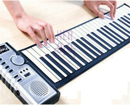 Wholesale Portable Keys Electronic Digital Roll Up Roll Up MIDI Soft Piano Keyboard