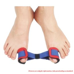 Wholesale 1 Pair Elastic Hallux Valgus Corrector Big Toe Straighteners Stretching Belt Foot Care Tool