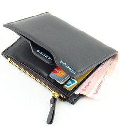 Wholesale Men Wallet New Genuine Leather Brand Wallets credit Mix Color Card holder Coin Purse Pockets