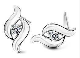 925 sterling silver earrings hypoallergenic earrings retro fashion mildly earrings female Korean silver jewelry earrings