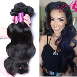 Malaysian Peruvian Mongolian Indian Brazillian Body Wave Virgin Hair Weave Bundles Cheap Remy Human Hair Extentions Natural Color 1b