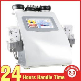 Multifunction RF Ultrasonic Cavitation Body Contour Slimming LLLT Diode Lipo Laser Cellulite Removal Fat Loss Salon Machine