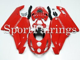 Wholesale Tiling Fit Ducati S s year ABS Motorcycle Fairing Kit Body Engine Cowling paneling gloss red