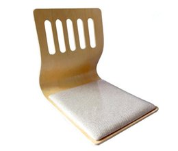 Wholesale 4pcs Japanese Floor Tatami Zaisu Chair Seat Cushion Natural Finish Asian Traditional Furniture Living Room Legless Chair Wholesales