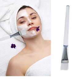Promotion outils gratuits d'expédition Femmes Lady Femme Masque Visage Yeux Maquillage cosmétiques Beauté souple outil Pinceau Livraison gratuite DHL # 6816