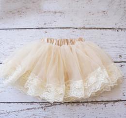New children tutu skirt baby girls lace tulle pitti skirt Newborn skirt A6079