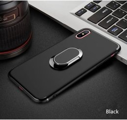 360 ° ring phone stand for mobile phone case for Apple iPhone 10 or X back cover iphone6 iphone7