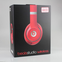 Wholesale Used Beats studio Wireless Headphones Noise Cancel Bluetooth Headphones Headset High quality with seal retail box