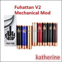 Wholesale Fuhattan V2 Mod Fibre de carbone couleurs Fuhattan Fuckyou Mod Fit Freakshow Little Boy RDA Le Troll Royal Hunter RDA Atomiseurs