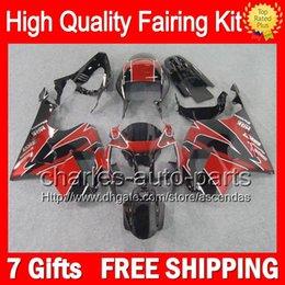 7gifts+Bodywork For HONDA VTR1000 00-07 Dark red VTR 1000 RTV1000 46CL7 VTR1000R 00 01 02 03 04 05 06 07 RC51 Red black SP1 SP2 Fairing Kit