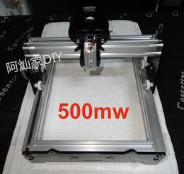Wholesale New Arrival mw mw Large Area Mini DIY Laser Engraving Engraver Machine Laser Printer Marking Machine