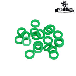 50 pcs Tattoo Machine Accessory Spring Rubber Silicon Green O-Ring VWS042