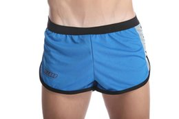 Wholesale 1pcs Summer Mens Soft Mesh Breathe Free Jogger jogging Shorts Casual Running Sports Gym Bermuda Short Men s Fitness Board Shorts hombre