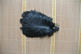 Wholesale 100 pcs 5-8inch Black ostrich feather for wedding centerpiece decor party table supply festive SUPPLY