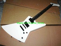 Guitare désert personnalisé en Ligne-Custom Shop Explorer M-II Guitare électrique Desert White Couleur Livraison gratuite
