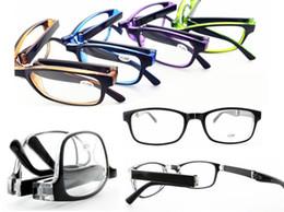 New Unisex Portable Folding Eyewear Foldable Reading Glasses With Case Black Strength +1.00,+1.50,+2.00,+2.50, +3.00,+3.50,+4.00 10Pcs Lot