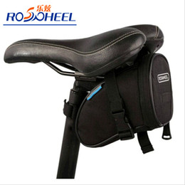 New ROSWHEEL Waterproof Mountain Road Bicycle Tail Bag Saddle Bag Bike Pouch Cycling Seat Bag Black
