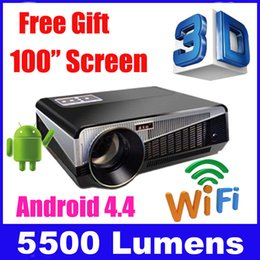 Wholesale lumens smart Android lcd tv led projector full hd accessories x1080 d home theater projetor video proyector beamer