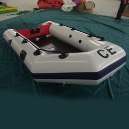 Wholesale AOQI amusement park equipment funny water game adult inflatable boat cheap inflatable fishing boat for sale