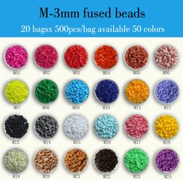 Wholesale 20 bags x bag M mm ARTKAL fused beads kids educational toys beading kits hama perler beads P1001 MB500x20