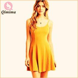 Wholesale-2015 Style Summer Dress Women Sexy Casual Backless Sleeveless Dress O-neck Sheath Spaghetti Strap Black Cotton Dress HF-2725