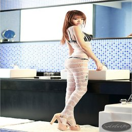 Wholesale 151020 Bodystocking Sexy Lingerie Women Sexy Costumes Erotic Baby Doll Lingeries Sex Langerie Body Stocking Sleepwear Nightgown Dress