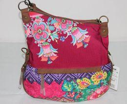 Wholesale New Fashion brand Womens canvas Small handbag shoulder bag gift X50H5