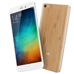 Wholesale Xiaomi Mi Note Bamboo Shell Metal Frame inch Retina FHD GB RAM GB ROM Snapdragon GHz MIUI MP Camera Smartphone