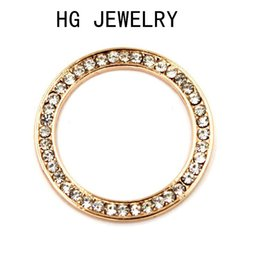 Rose Gold Wholesale Alloy Window Plates Floating Charms Fit 30mm Origami Owl Living Lockets Jewelry Pendant