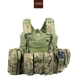 Wholesale tactical Strike Plate Army military Molle Combat steel wire HEAVY DUTY ARMOR Carrier CIRAS Shoulders ghost bullet proof wear resisting vest