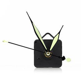 Wholesale Black Quartz Wall Clock Movement Mechanism Repair DIY Clock Tool Parts gold black Three Hands