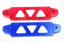 Wholesale Universal Fit mm Aluminum Red Blue Car Battery Tie Down Bar Bracket Holder For Acura Integra Honda Civic Civic del Sol S2000