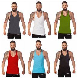 Wholesale Gym Singlets Mens sports vest Mens Tank Tops mens Bodybuilding tanks Men s Golds Gym Stringer Tank Top Sports Clothes DHL free D246