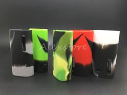 5pcs Istick Basic Silicone Case Silicon Cases Rubber Sleeve Protective Cover Skin For Eleaf Ismoka Istick Basic Vape 2300mah Battery Box Mod