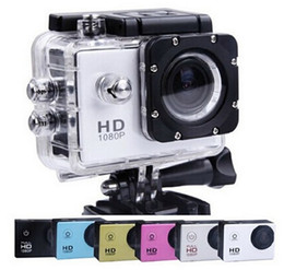 Wholesale SJCAM SJ4000 Mini Sports Camera K P Full HD Car Cam DV Action Waterproof quot LCD Camcorders for cycling diving skiing recorder