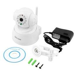 Wholesale-1set White Wireless WiFi IP network connection Webcam CMOS Camera Night Vision 11 LEDYKS Wholesale