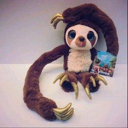 "Wholesale Croods Monkey Belt - 1pcs new 16"" 40cm Belt monkey Long arm monkey plush doll the Croods Factory direct sale free shipping"