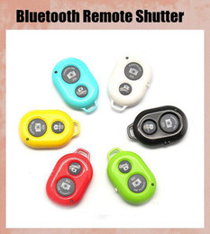 Wireless Bluetooth Remote Shutter Control for Extendable Self Portrait Selfie Stick Handheld Monopop IOS Android Phones Free Shipping OTH011