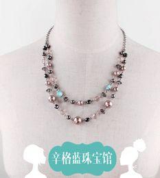Wholesale Singh blue jewelry shop GAP Azure Amidst the original single necklace earring sets original dollars