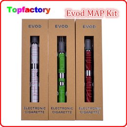 Wholesale MAP EVOD Kit Battery mah mah mah map evod Electronic Cigarettes Battery artist design with gift box design hot selling