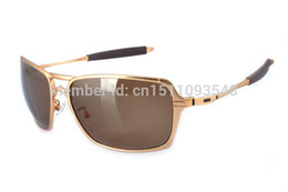 Wholesale HOT HIgh quality Inmate Iridium Metal frame Polarized lens Outdoor men sport sunglass with case box