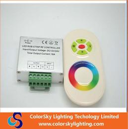 Promotion couleur de rêve magique Contrôleur de RVB de couleur de rêve magique de couleur, contrôleur à distance de 5 touches, bande de LED de RVB contrôleur de panneau de contact RF, 24V / 12V