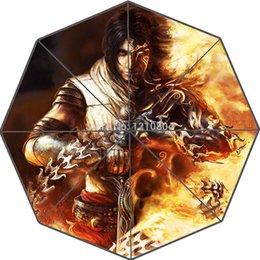 Wholesale-Custom Adventure Game Prince of Persia Portable Fashion Foldable Umbrella