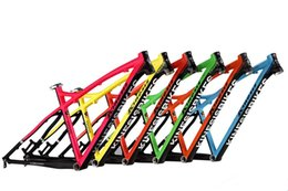 Wholesale best selling kinesis super light aluminium alloy entry level XC moutain bike hardtail frame size quot quot quot