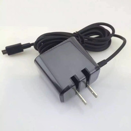 Wholesale Blackberry V A Folding Blade micro Usb Wall Charger AC Adapter RIM AD8213HF For Blackberry Playbook Tablet charger