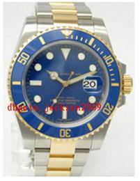 Wholesale Luxury Watches Top quality Luxury Sapphire Ceramic mm Datum Date Bezel Blue Dial Automatic Sport Mens Watch Men s Wrist Watches